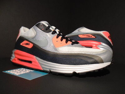 NIKE AIR MAX LUNAR 90 C3.0 WHITE COOL GREY BLACK INFRARED PINK OG 631744 106 9