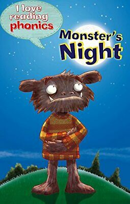 I Love Reading Phonics Level 4: Monster's Night by Davies, Becky Book The Cheap