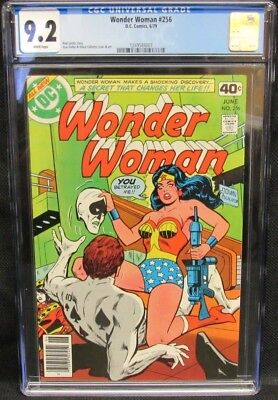 Wonder Woman #256 (1979) CGC 9.2 White Pages CM760