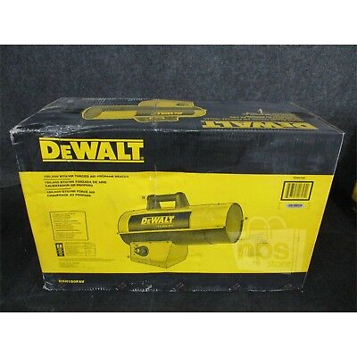 DeWalt DXH150FAV 150,000 btu/hr Forced Air Propane Heater*