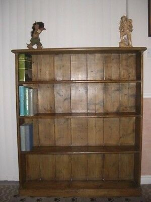 Vintage -Old Pine Book Case 51 X 8 X44 Ins