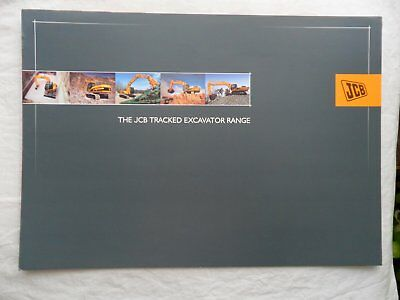 The JCB TRACKED EXCAVATOR RANGE Sales Brochure 2004