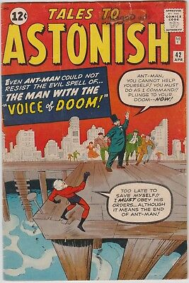 Tales To Astonish (Vol: 1) #42, Ant-Man