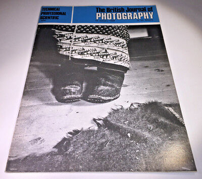 A classic copy of  The British Journal of Photography, dated 10th January 1969