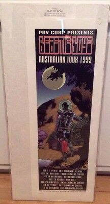 Beastie Boys Australian Tour 1999 Signed And Numbered Poster By Jason Jacenko