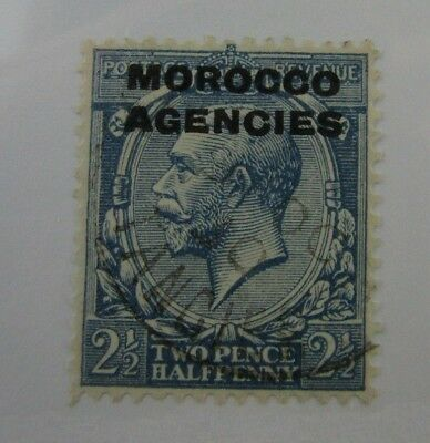 1925 Morocco Agencies SC #223 used stamp