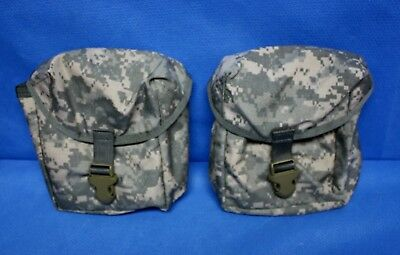 IFAK 2 each First Aid Kit Carrying Case Pouch USGI ACU Camo Tan Buckle Molle