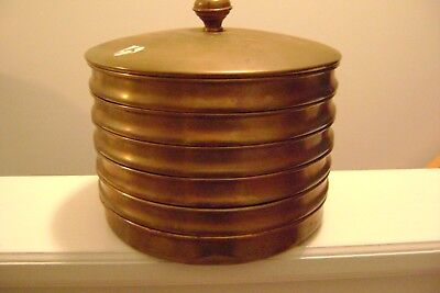 Vintage Brass Sieve Wire Screen Sifters Container (Lab Mining Gold Farm ?)