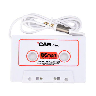 Car Automobile IC800 Cassette Casette Tape 3.5mm AUX Audio Adapter For MP3/4 CD