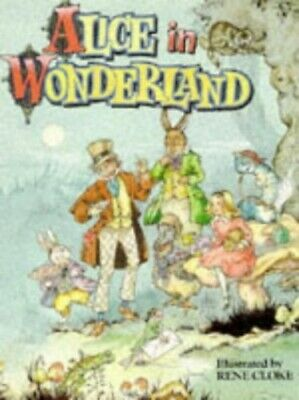 Alice in Wonderland by Lewis Carroll Hardback Book The Cheap Fast Free Post