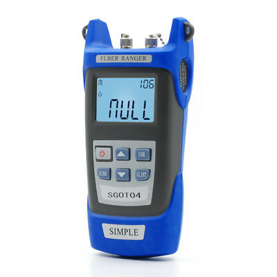 2018 NEW 1310/1550Nm OTDR Principle Simple Tester Optical Fiber Ranger Meter