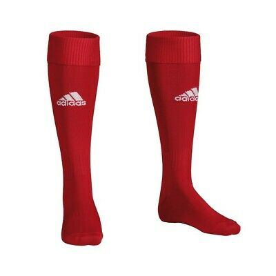 adidas Performance Men's Santos Football Rugby Hockey Socks - Red UK 6.5-8 40-42