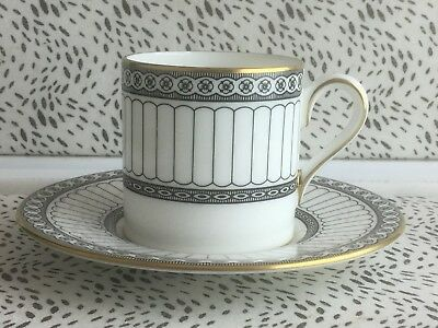 Wedgwood Colonnade Coffee Can & Saucer R4340 Made In England USC RD8393