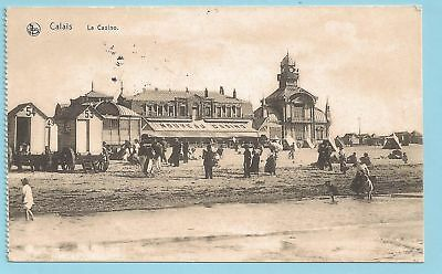 AK Calais -Casino-  Feldpostexpedition  1. WK 15.2.1916