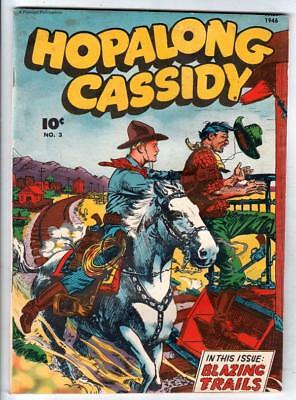 Hopalong Cassidy  # 3  strict  FN+   KEY   number  3rd issue in ongoing series!
