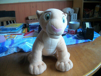 Hasbro Simba The Lion King Soft Toy Very Good Clean Condition