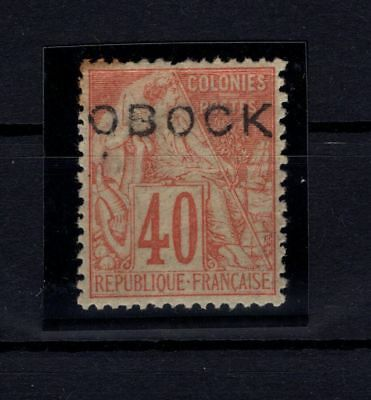 P63109/ Obock / Sg # 18 Neuf * / Mint Mh / Certificate / 84 €