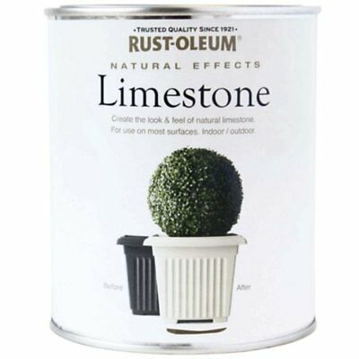 Rust-Oleum All-Surface Self Primer Paint Natural Effects Limestone Matt 250ml