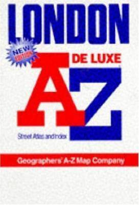 A. to Z. Atlas of London: 1m-3 - Geographers' A-Z Map Company - Acceptable - ...