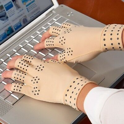 Magnetic Compression Gloves Arthritis Bad Circulation Carpel Tunnel Pain Relief