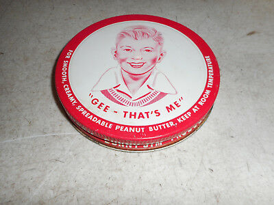 "Vintage Sunny Jim Peanut Butter Jar Lid ""GEE-THAT'S ME"" 4 3/4"" Collector Replace"