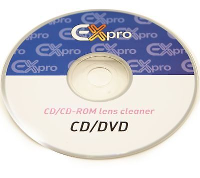 Ex-Pro® - Lens Cleaner with Fluid CD PS3 XBOX 360 BLU RAY DVD PLAYER CD DISC