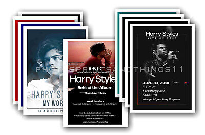 HARRY STYLES - 10 promotional posters  collectable postcard set # 3