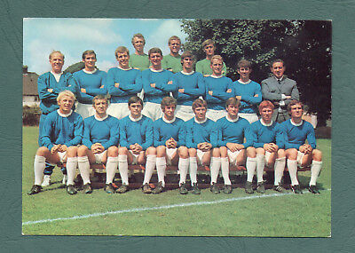 Everton (Alan Ball) 1970 Coffer Postcards Rare Uk Issue P/101 Soccer Football