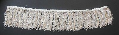 NWT Wolff Fording Laser Sequin Light Nude Fringe Skirt Child Jazz Tap