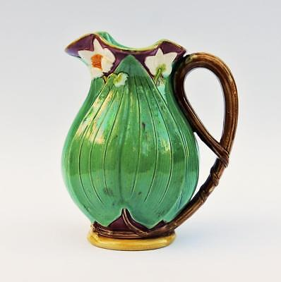 MINTON MAJOLICA 6 Inch JUG PITCHER Dated 1868