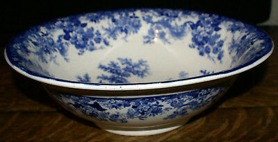 19th Century Large Minton Genovese Staffordshire Wash Basin or Centerpiece Bowl