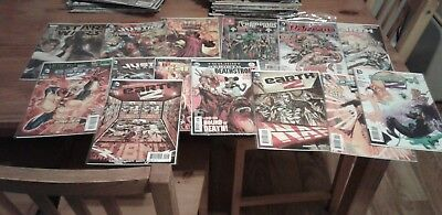 Near mint bundle of marvel and dc comics,all bagged and boarded,1st issues also.