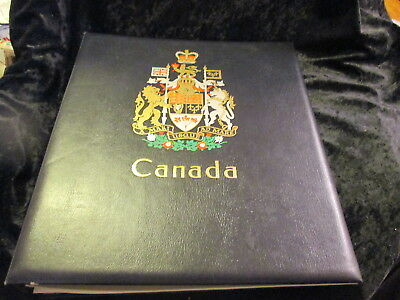 Canada DAVO stamp album small collection 1875 – 1953