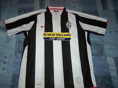 Official Juventus Home Football Shirt Jersey Extra Large Man .