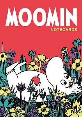 Moomin Notecards in a Wallet New Cards