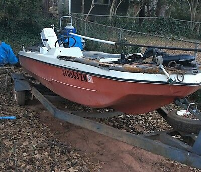 1973 Vivian Industry 14' Fishing Boat & Trailer - Georgia
