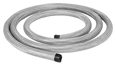 "SPECTRE 39510 Stainless Steel Braided Flex Hose 1/2"" ID X 10' Water Oil Line"