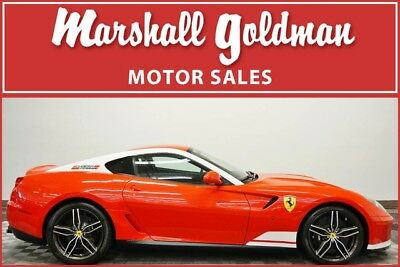 2011 Ferrari 599 Base Coupe 2-Door 2011 Ferrari 599 Alonso Edition Rosso Scuderia w/Nero 1,446 miles