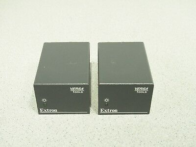 Lot of 2 EXTRON Versa Tools VYC 100N NTSC Video Composite to S-Video Converter
