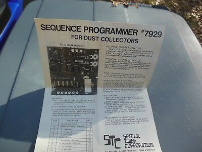 Special Timer Corp. sequence programmer 7929 board