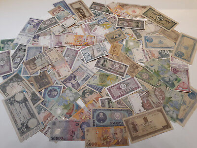 100 Pcs Historic Romanian Banknotes Collection Lot,!n:1