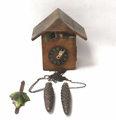 Vintage FORESTALL G.M. Angem CUCKOO CLOCK - SPARE & REPAIRS - L02
