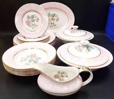 IMPERIAL Fine English China 22 Pieces Dinner Set Made In England - R20