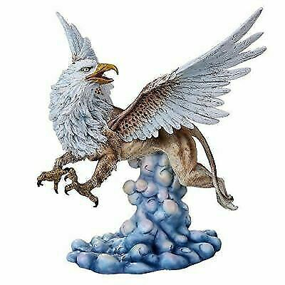 Heraldic Creature Griffin Figurine With Eagle Head Wings and Talons Lioness Body