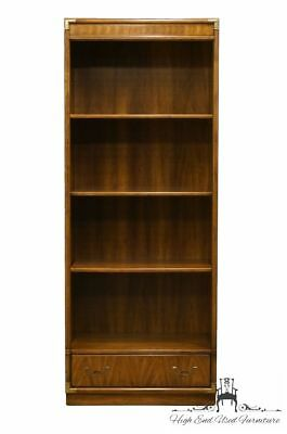 """DREXEL HERITAGE Accolade Collection Campaign Style 32"""" Bookcase Wall Unit 984..."""
