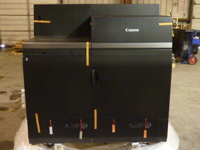NEW Canon imagePRESS C10000VP Sheetfed Color Digital Press F164400 (PART B)