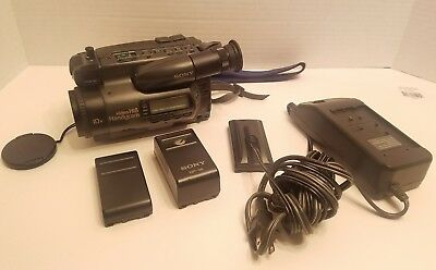 Sony CCD-TR101 HI8 8mm Video8 Camcorder Stereo Camera VCR Player Video Transfer