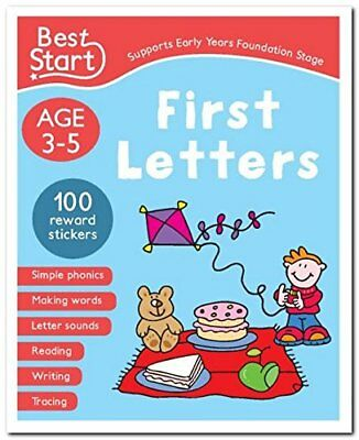 Best Start Pre-School Workbook Ages 3-5: First Letters (Supports Early Years Fou