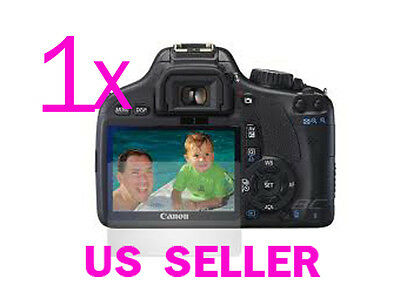 1x Clear LCD Screen Protector Guard Cover Film for Canon EOS 550D REBEL T2i