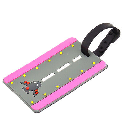 Silicone Airplane Pattern Backpack Baggage Suitcase ID Name Label Luggage Tag